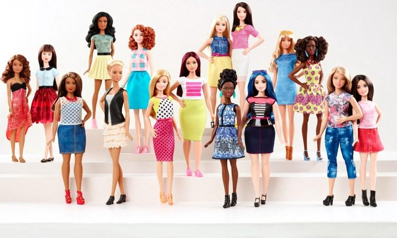 www.pinkcaboodle.com Barbie Evolution