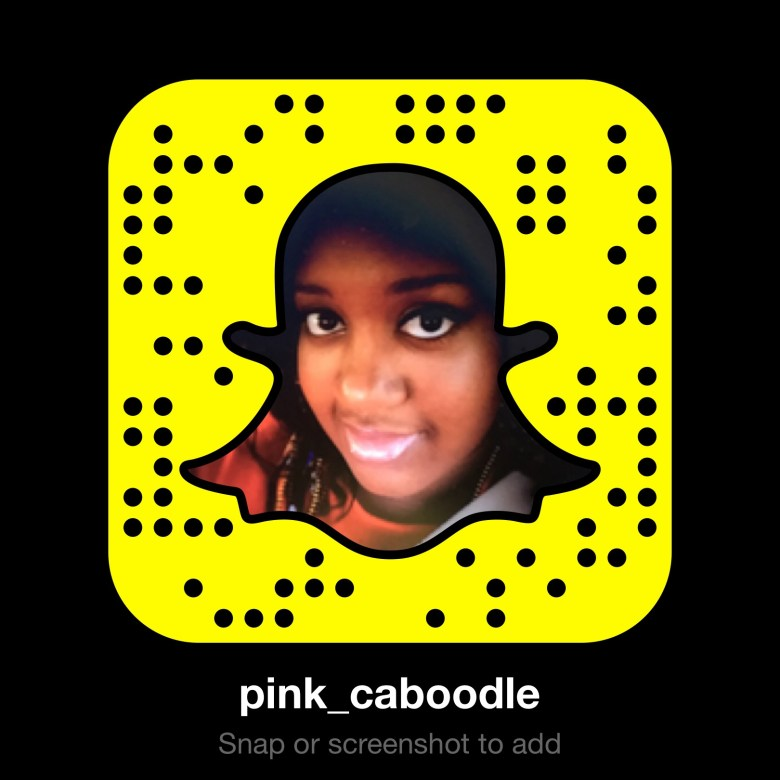 www.pinkcaboodle.com snapchat