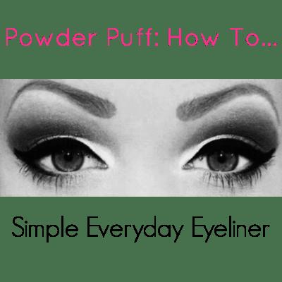 www.pinkcaboodle.com Simpe Eyeliner