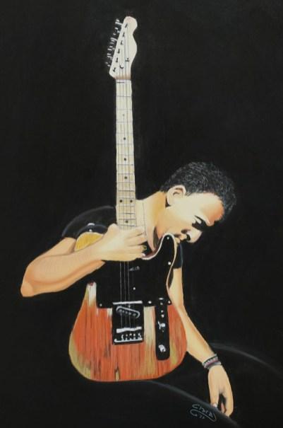 CLARA TRAMONTANO - Nata a Salerno nel 1972, mi avvicino all'arte 'non più bambina', diventando insegnante di tecniche decorative e di pittura con varie tecniche, fra cui il pastello secco, con cui è realizzata l'opera. Sposata, vivo con due figli, un cane, tre gatti, e il marito.