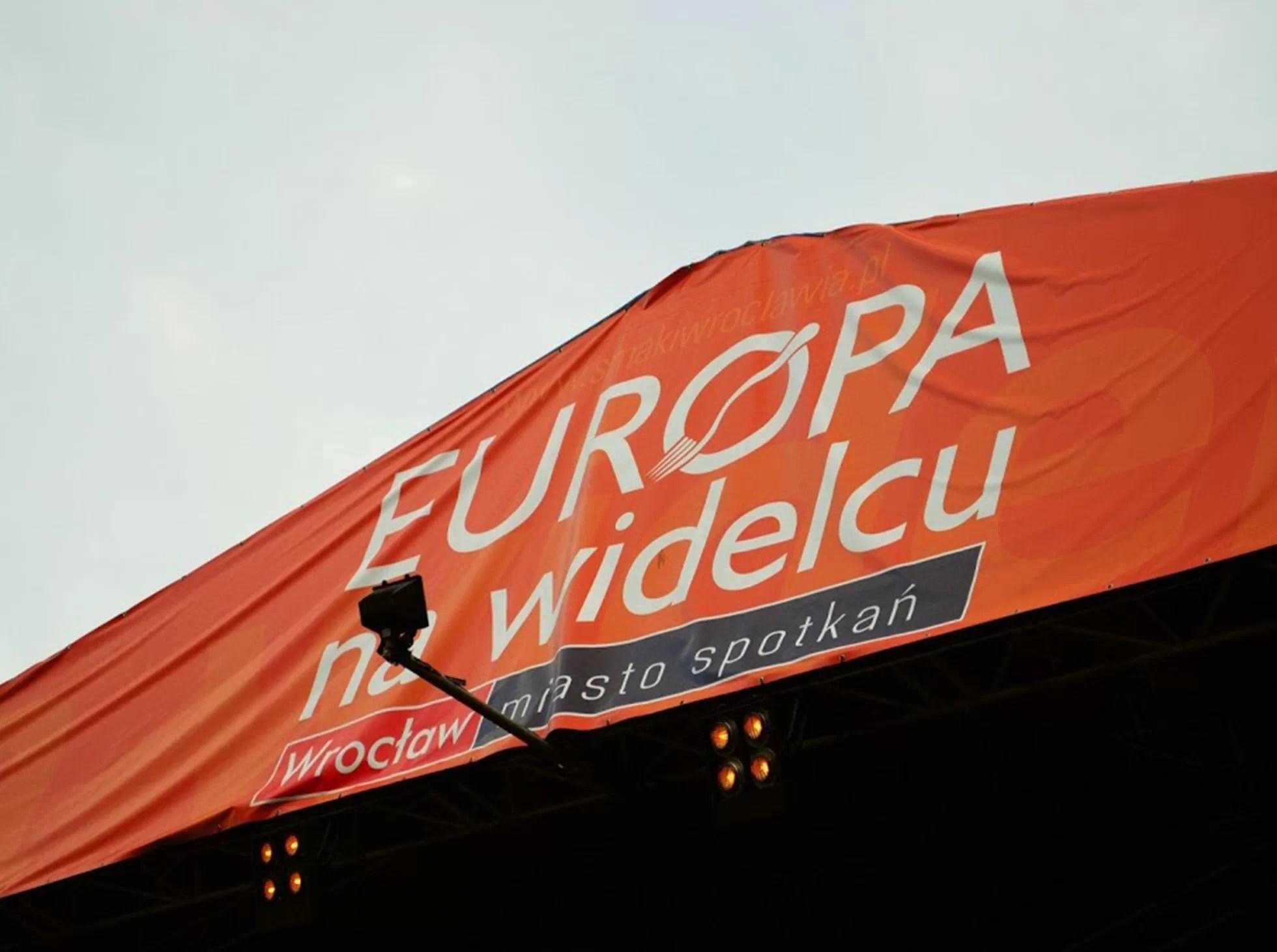Europa na widecu imreza na wrocławskim rynku