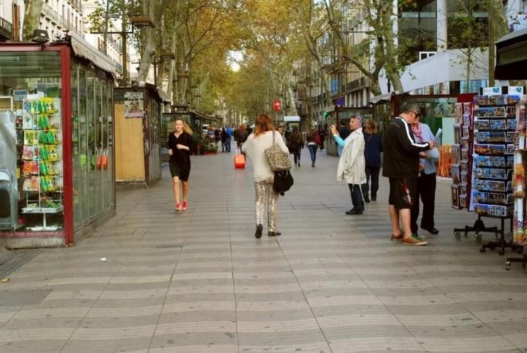 Ciekawe miejsce w Barcelonie