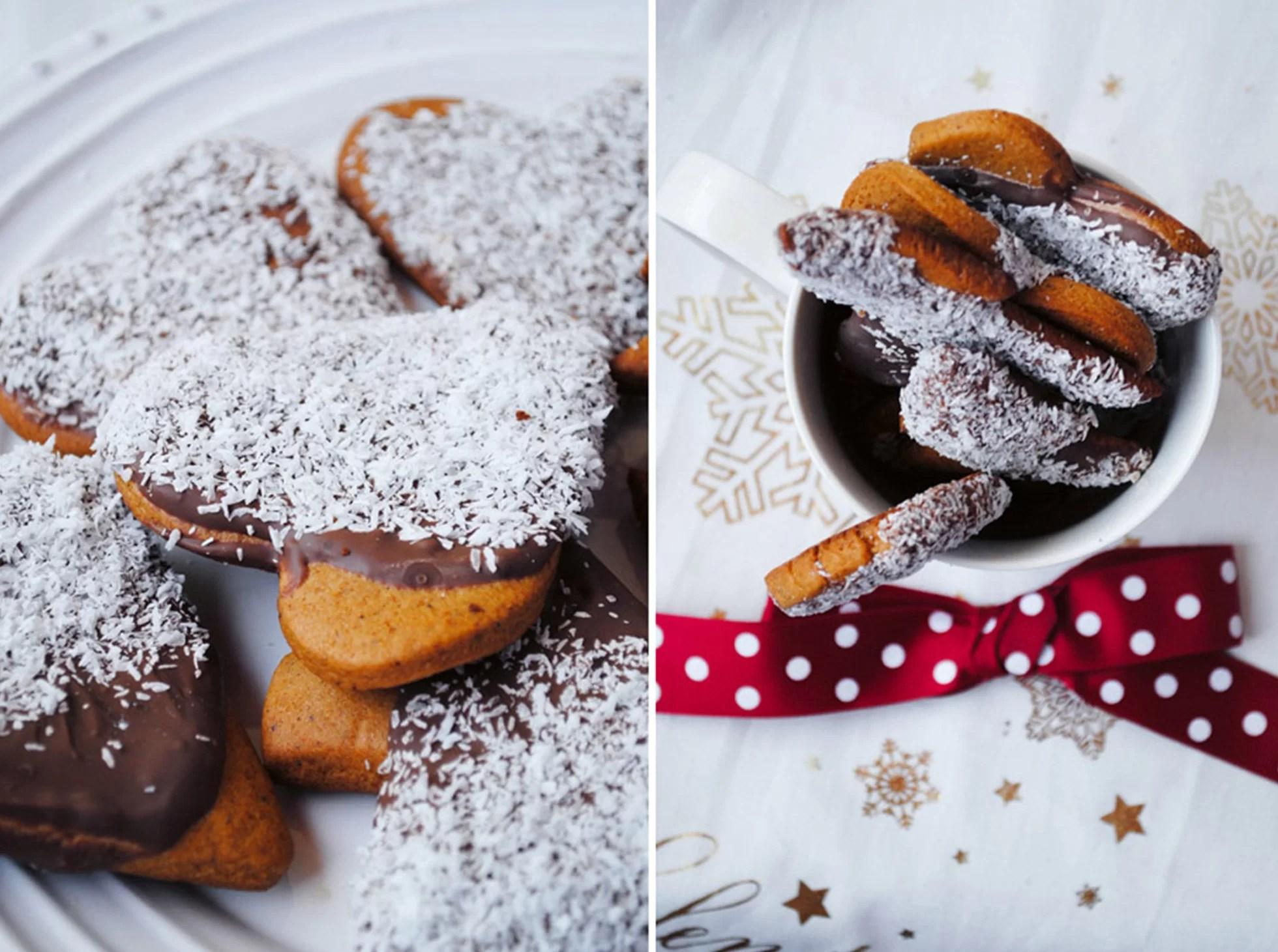 Pierniki maczane w czekoladzie