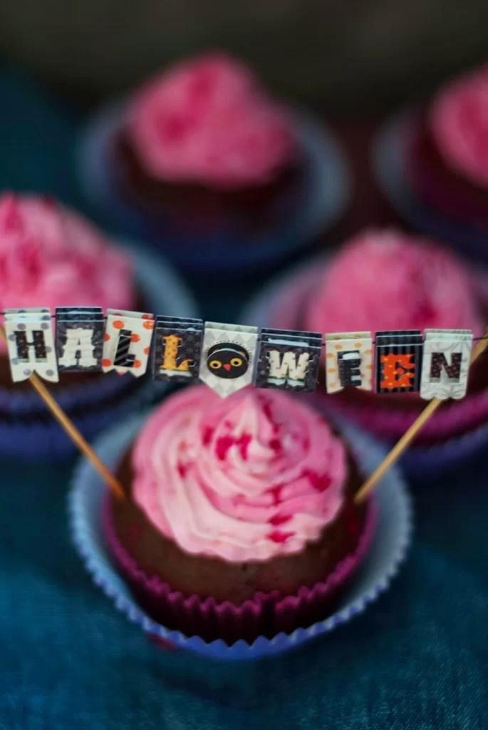krwawe muffinki na halloween