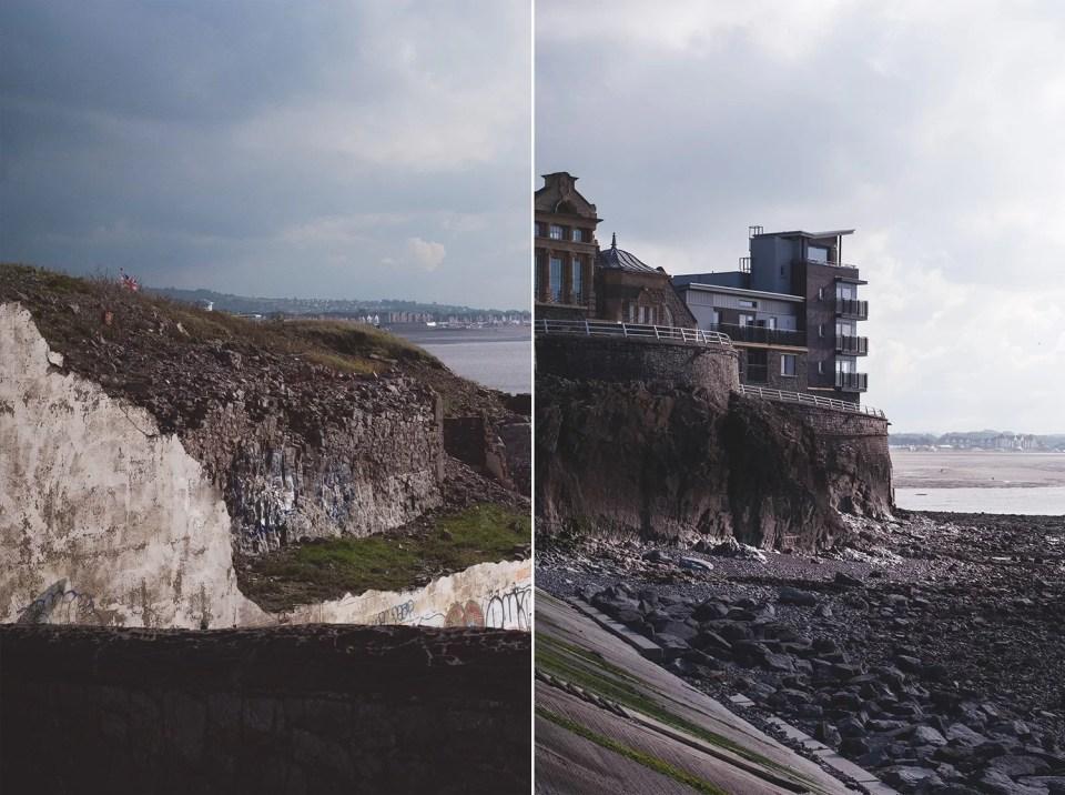 Klify Weston-Super Mare