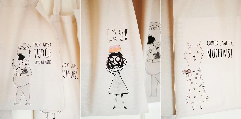 Eko torby z rysunkiem