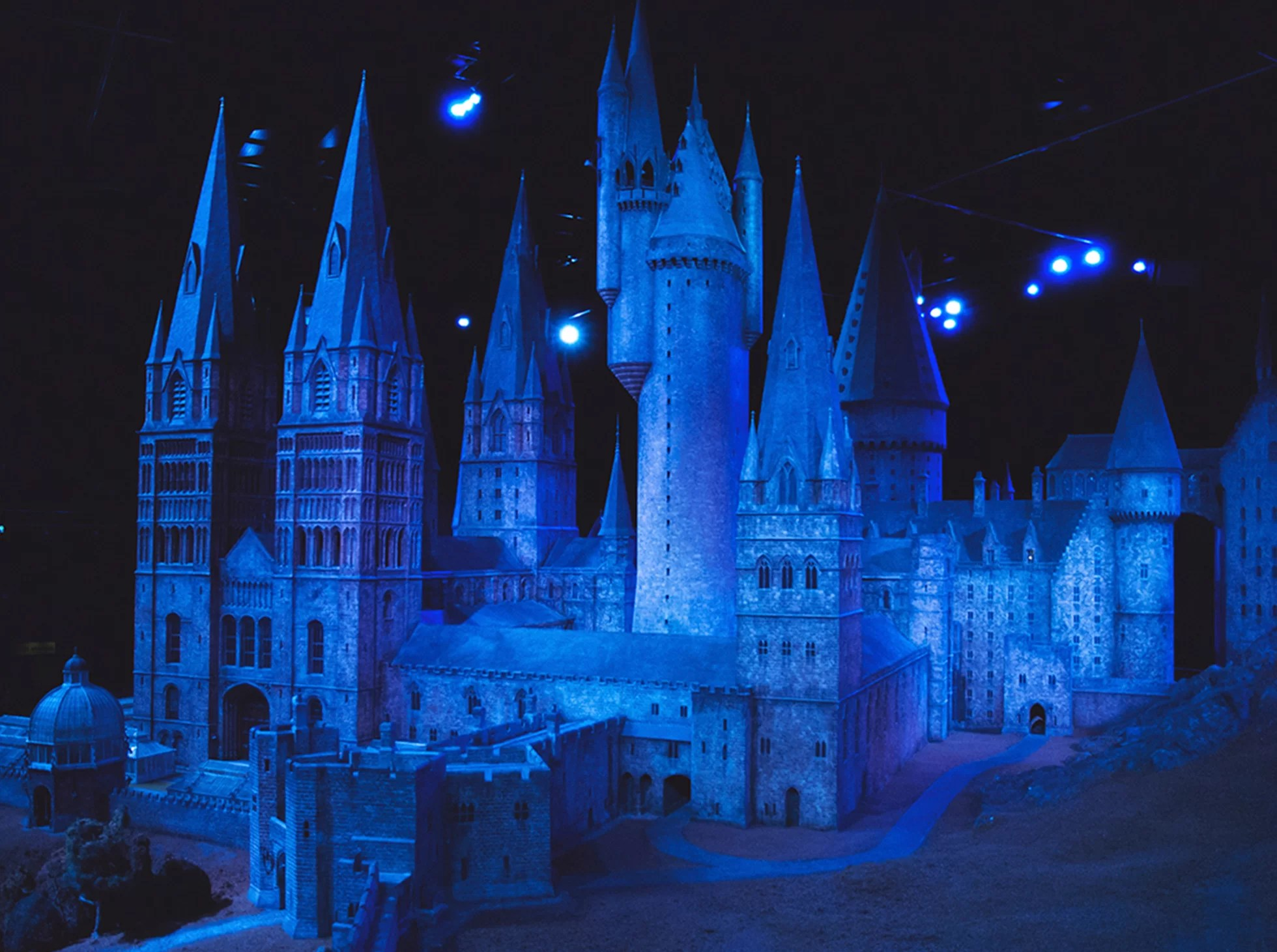 Warner Bros studio Harry Potter Londyn