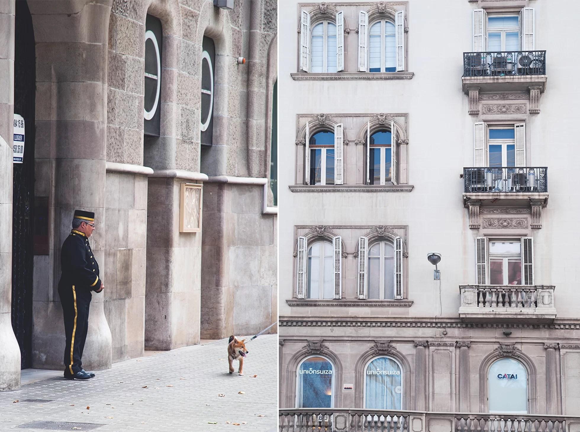 Ulice Barcelony urlop