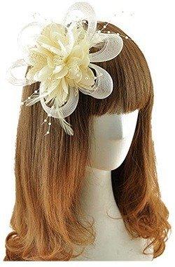 Coolr Fascinator Hair Clip Cocktail Headwear Flower Bridal Headpieces