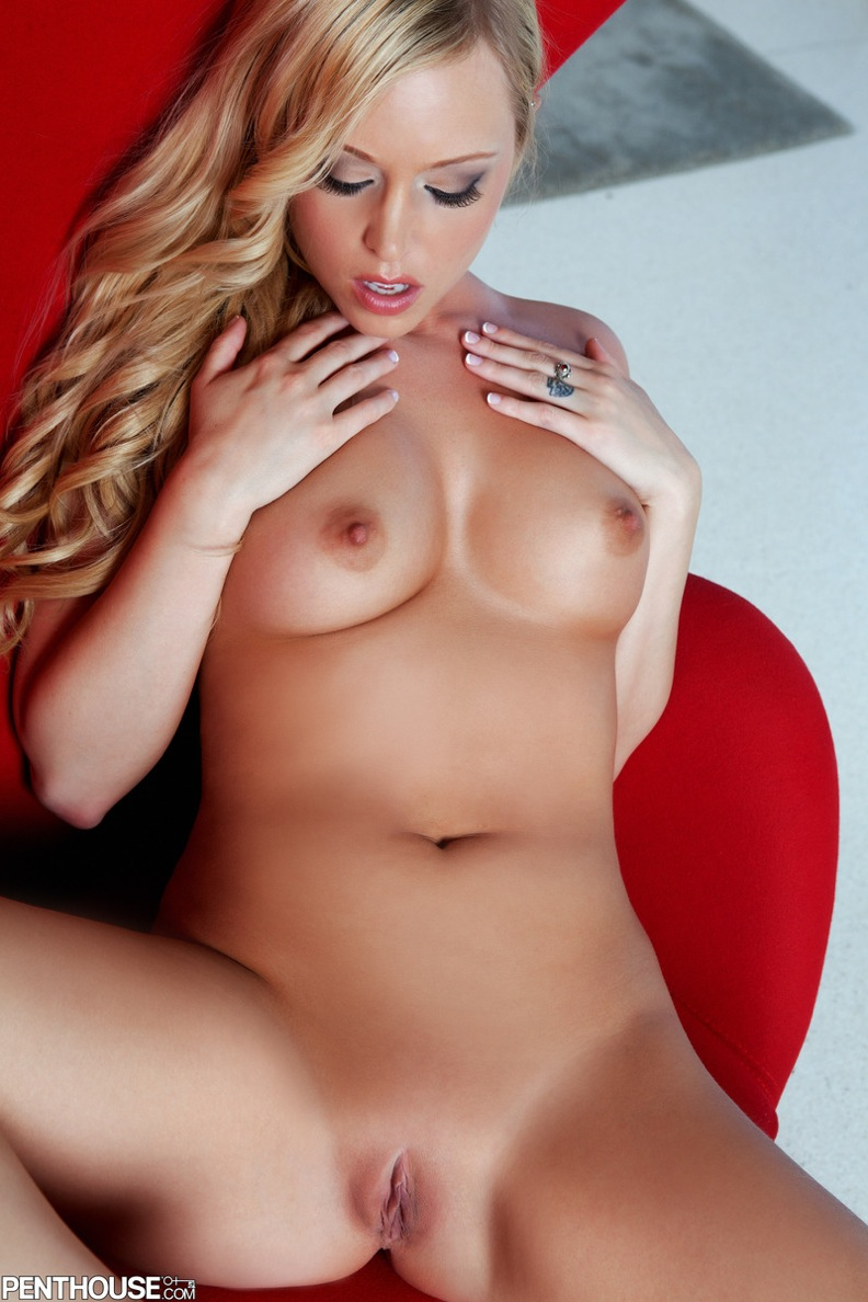 PinkFineArt  Brea Bennett Red Chair from Penthouse