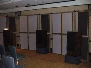 Monitoring system provided by ATC Loudspeaker Technology Ltd.