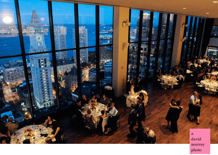 The State Room  Magnificent Boston Harbor View  Pink