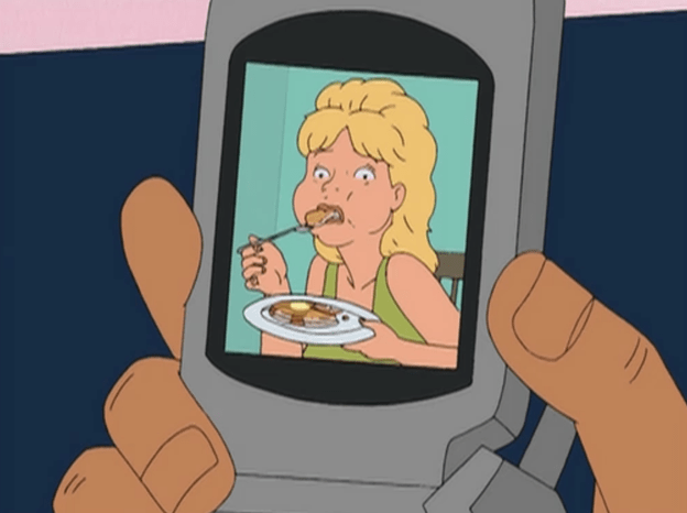 Luanne from the koth episode Luanne Gets Lucky.