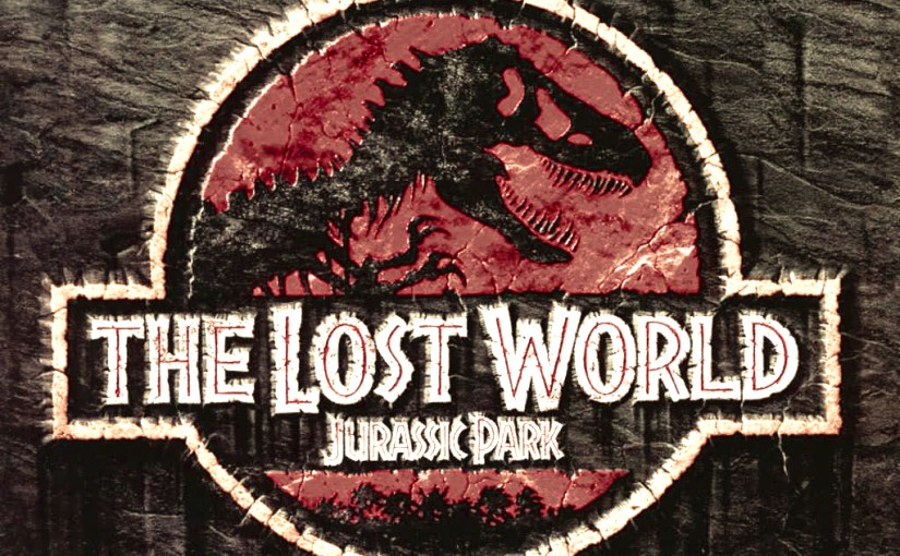 The Lost World Jurassic Park logo.