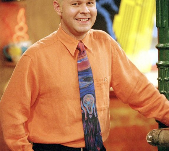 Image of Gunther in central perk from the show Friends.