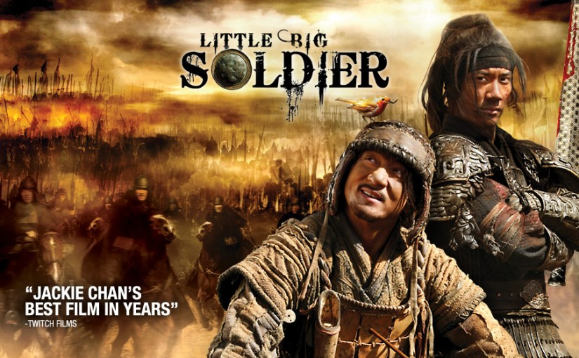 Image of the Little Big Soldier movie poster