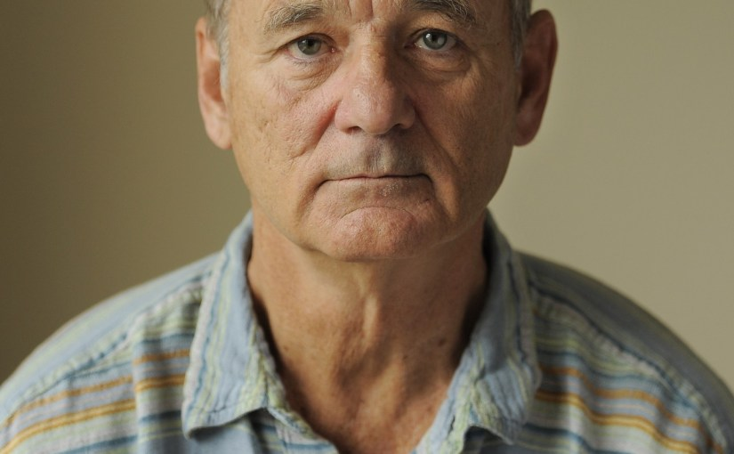 Image of the actor Bill Murray.