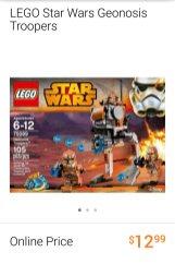 Lego Star Wars Geonosis Troopers set