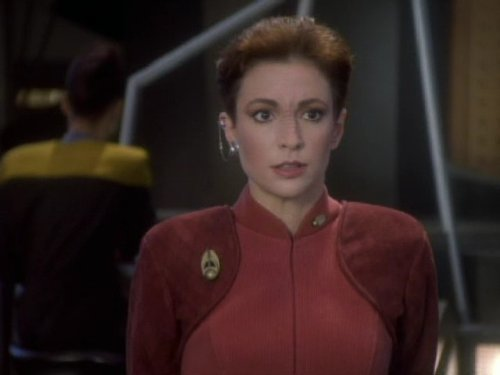Image of Major Kira from Star Trek Deep Space 9.