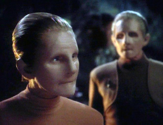 Image of the female Shapeshifter from Star Trek Deep Space 9.