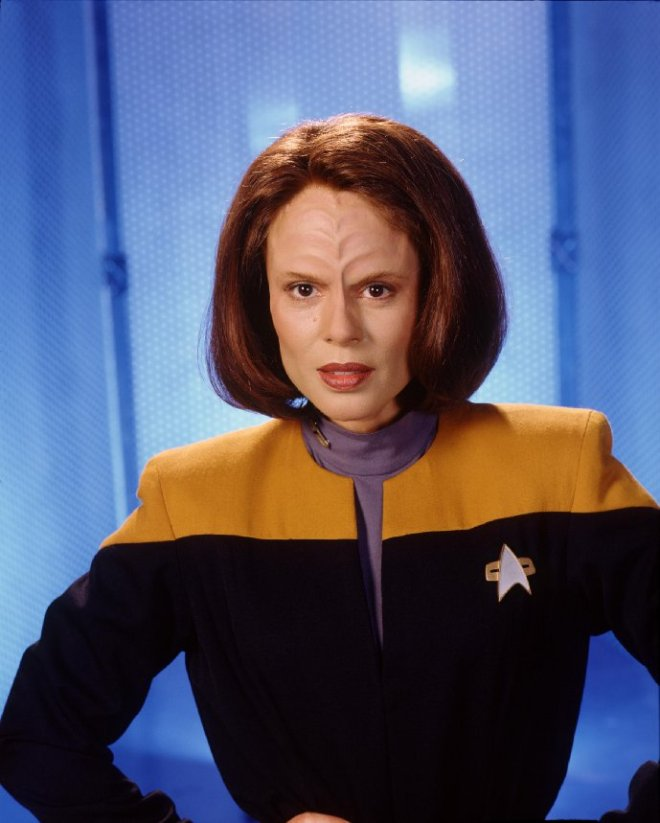Image of B'Elana Torres from Star Trek Voyager.