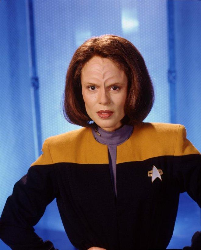 Image of B'Elana Torres from Star Trek Voyager.