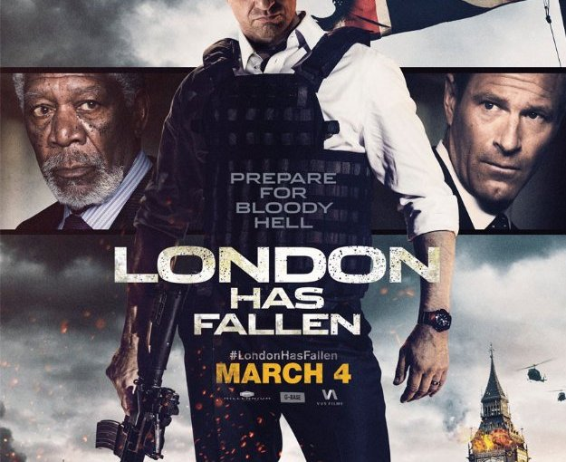 Image of the 'London Has Fallen' movie poster.