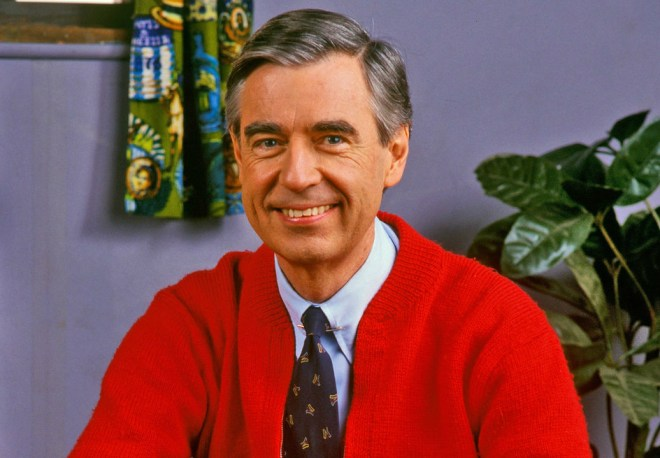 Portrait of Mr Rogers