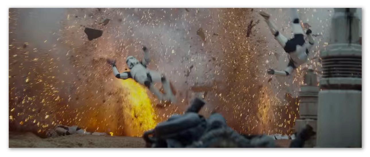 """Image of Storm Troopers going """"weeeeeee"""""""