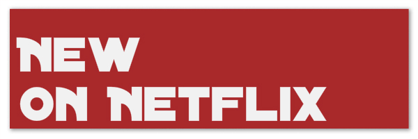 "Image of red banner with text ""new on Netflix"""