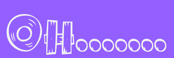 "Purple banner with text ""Oh......"""