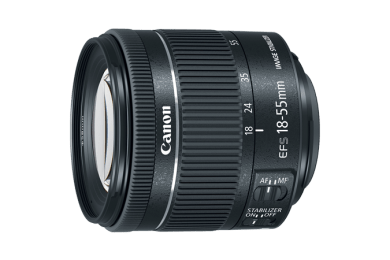The new Canon EF-S 18-55mm F4-5.6