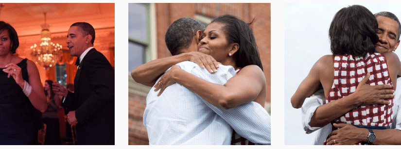 Pete Souza Doesn't Troll Trump Today – <em>Reminds World Michelle and Barack Love Each Other</em>