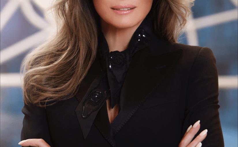 First Lady Melania Trump's <em>New</em> White House Portrait