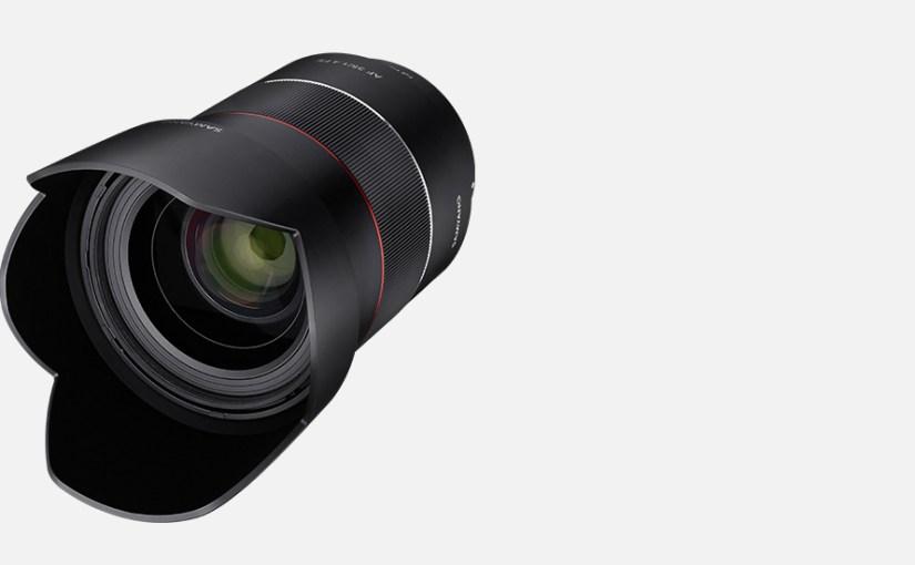 Samyang Optics Announces 35mm Sony E Mount Lens