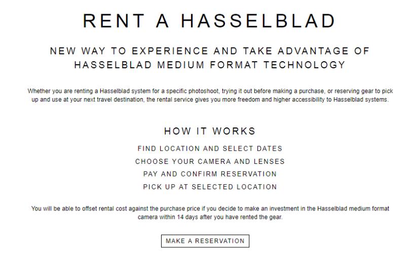 Hasselblad isn't sitting still…