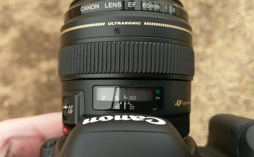 The Canon 85mm f/1.8