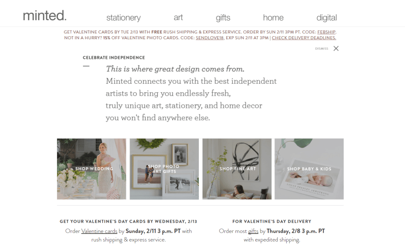 Minted has now created an asinine photographer on demand service…