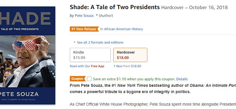 "Pete Souza's ""Shade"""