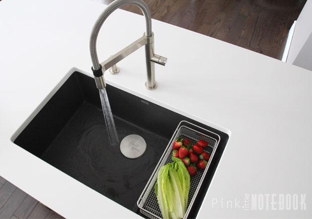 blanco kitchen sink aide stand mixer thinking about the silgranit pink little notebookpink blancopreciscascade4 pln