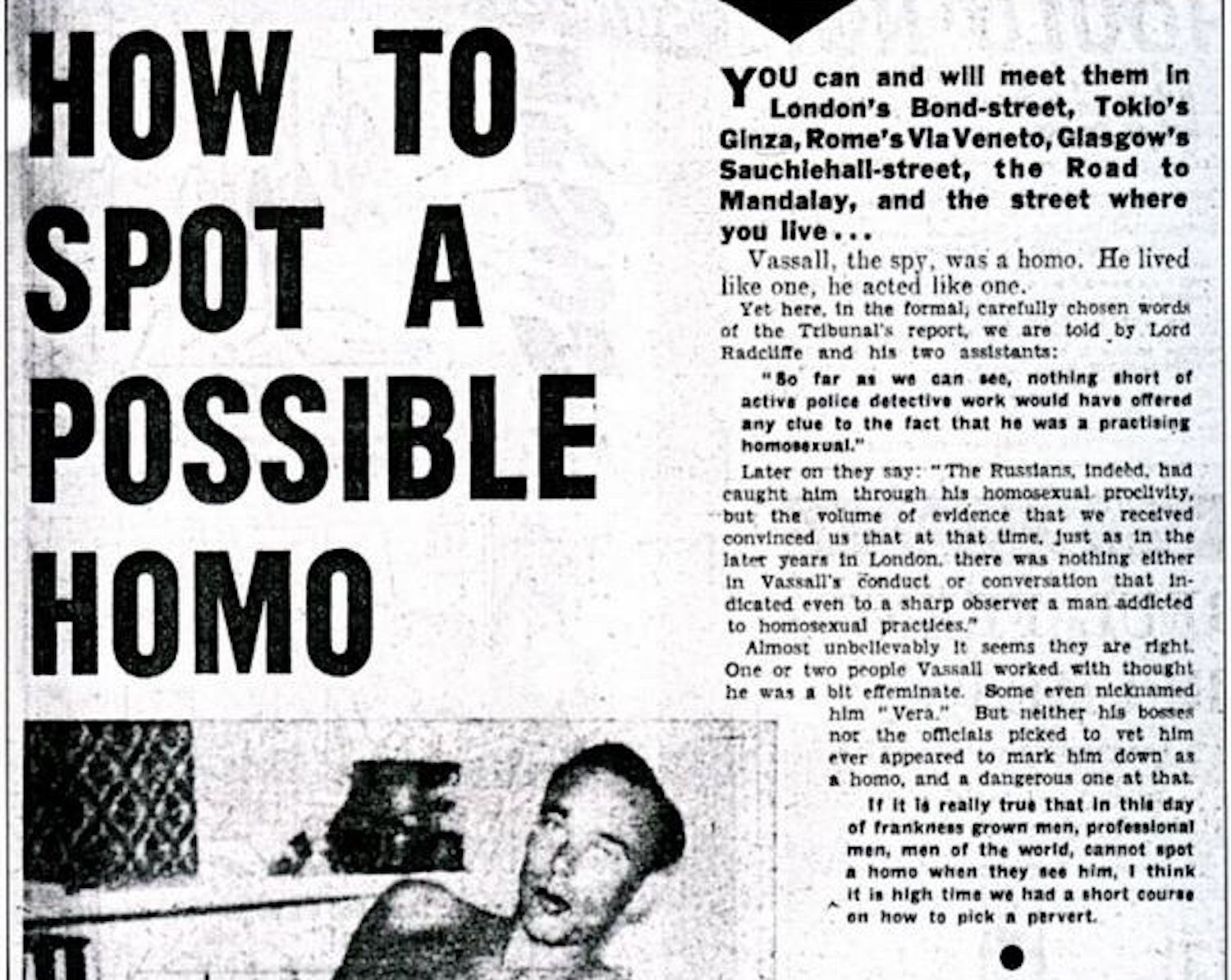 Would you be able to 'spot a homo' using this 1962