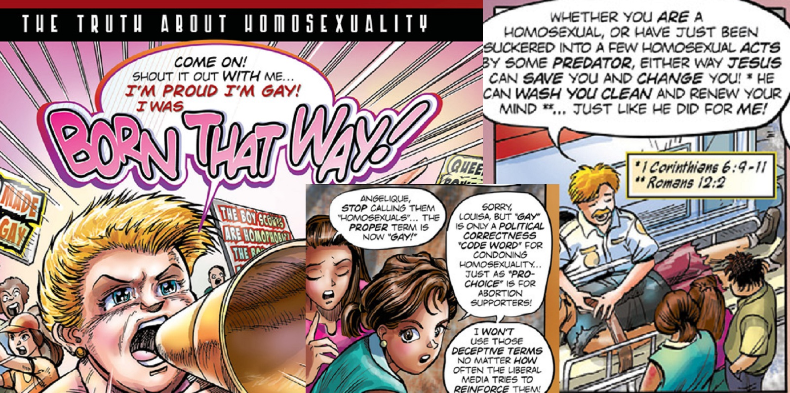 Christian Groups Are Handing Out These Creepy Gay Cure Comics To Children