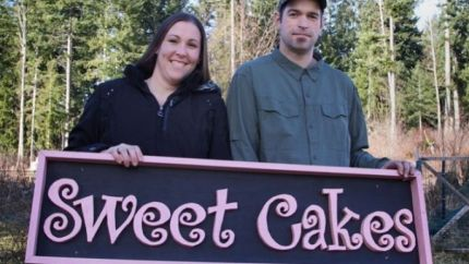 Melissa and Aaron Klein of Sweet Cakes by Melissa