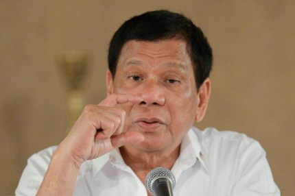 "Filipino President Duterte called the US Ambassador a ""gay son of a whore"""