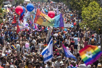 Tel Aviv Pride in 2017