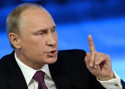 Russian President Vladimir Putin getty