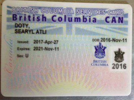 Searyl Atli health card