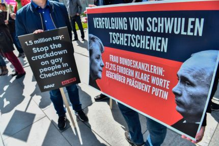 protest in germany