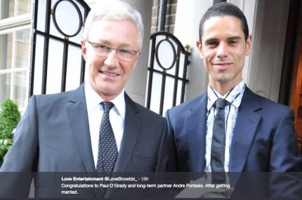 Paul O'Grady and Andre