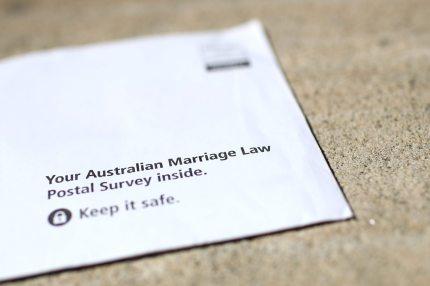 Australia same-sex postal vote